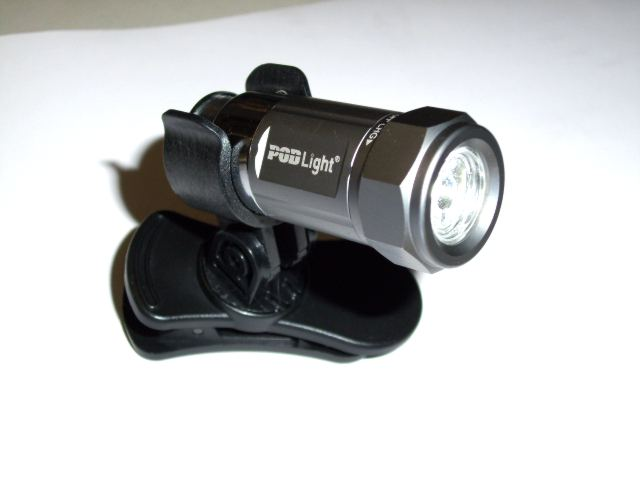 MicroPOD 2-in-1 technicians flashlight and night safety light.